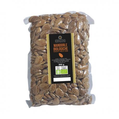 Mandorle Biologiche sgusciate varietà Tuono - 500 g