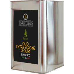 Huile Extra Vierge d'Olive Biologique - 3 Litres