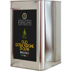 Olio Extravergine di Oliva Biologico - 3 L
